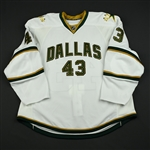 Boucher, Philippe<br>Third Set 1 Game-Issued (GI)<br>Dallas Stars 2008-09<br>#43 Size: 58
