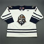 Campbell, Max<br>White Set 1<br>Greenville Road Warriors 2011-12<br>#11 Size: 56