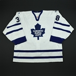 Hedin, Pierre * <br>White Preseason<br>Toronto Maple Leafs 2003-04<br>#38 Size: 56