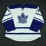 Tlusty, Jiri<br>Third Set 1<br>Toronto Maple Leafs 2008-09<br>#11 Size: 58