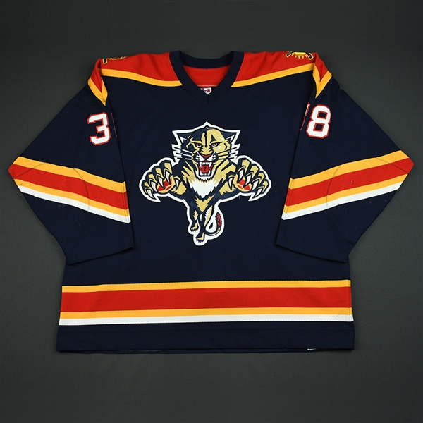 Beaudoin, Eric * <br>Blue Preseason<br>Florida Panthers 2003-04<br>#38 Size: 56