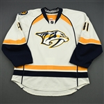 Beck, Taylor<br>White Set 1<br>Nashville Predators 2013-14<br>#41 Size: 56