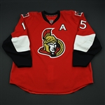 Heatley, Dany<br>Red Set 3 w/A<br>Ottawa Senators 2008-09<br>#15 Size: 58+