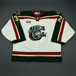 Quesada, Tony * <br>White Set 1<br>Houston Aeros 2006-07<br>#32 Size: 58G