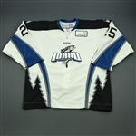 Fredriksson, David<br>White Set 1<br>Idaho Steelheads 2011-12<br>#25 Size: 56