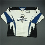 Matheson, Derek<br>White Set 1<br>Idaho Steelheads 2011-12<br>#11 Size: 56