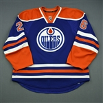Arcobello, Mark<br>Blue Retro Set 2<br>Edmonton Oilers 2013-14<br>#26 Size: 56