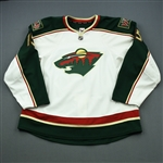 Heatley, Dany * <br>White Set 2<br>Minnesota Wild 2012-13<br>#15 Size: 58