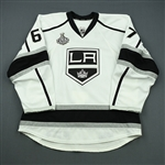 Cliche, Marc-Andre<br>White - Stanley Cup Final - Game-Issued (GI)<br>Los Angeles Kings 2011-12<br>#67 Size: 56