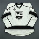 Drewiske, Davis<br>White - Stanley Cup Final - Warm-up Only<br>Los Angeles Kings 2011-12<br>#44 Size: 58