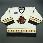 Cheverie, Marc<br>White Set 1<br>Gwinnett Gladiators 2011-12<br>#1 Size: 58G