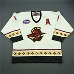 Colbert, Will<br>White Set 1 w/A<br>Gwinnett Gladiators 2011-12<br>#4 Size: 56