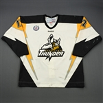 Levesque, Gabriel<br>White Set 1<br>Stockton Thunder 2012-13<br>#12 Size: 52