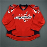 Alzner, Karl<br>Red Set 1<br>Washington Capitals 2012-13<br>#27 Size: 56