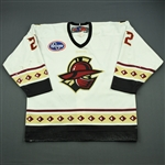 Galivan, Pat<br>White Set 1 (A removed)<br>Gwinnett Gladiators 2011-12<br>#22 Size: 54