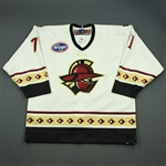Kashirsky, Nikita<br>White Set 1  (A removed)<br>Gwinnett Gladiators 2011-12<br>#71 Size:54