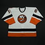 Mapletoft, Justin * <br>White 2nd Regular Season<br>New York Islanders 2003-04<br>#16 Size: 56
