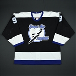 Holzinger, Brian * <br>Black 2nd Regular Season<br>Tampa Bay Lightning 2002-03<br>#9 Size: 54