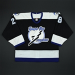 Keefe, Sheldon * <br>Black 2nd Regular Season<br>Tampa Bay Lightning 2002-03<br>#28 Size: 52