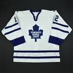 Fitzgerald, Tom * <br>White 3rd Regular Season<br>Toronto Maple Leafs 2002-03<br>#12 Size: 54