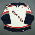 Pyatt, Tommy<br>White Set 2<br>Hartford Wolf Pack 2008-09<br>#47 Size: 56