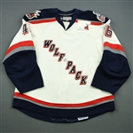 Owens, Jordan<br>White Set 2<br>Hartford Wolf Pack 2008-09<br>#46 Size: 56