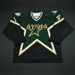 Barnes, Stu * <br>Green Playoffs<br>Dallas Stars 2003-04<br>#14 Size: 54