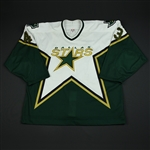 Boucher, Philippe * <br>White Playoffs<br>Dallas Stars 2003-04<br>#43 Size: 58