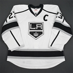 Brown, Dustin<br>White Set 1 w/C<br>Los Angeles Kings 2015-16<br>#23 Size: 58
