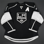 Carter, Jeff<br>Black Set 1 w/A<br>Los Angeles Kings 2015-16<br>#77 Size: 56