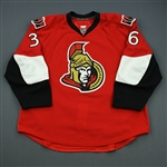 Hale, David<br>Red Set 3<br>Ottawa Senators 2010-11<br>#36 Size: 58