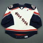 Daigneault, Maxime<br>White Set 2<br>Hartford Wolf Pack 2008-09<br>#1 Size: 58G