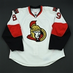 Comrie, Mike<br>White Set 2<br>Ottawa Senators 2008-09<br>#89 Size: 54