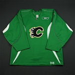 Reebok<br>Green Practice Jersey<br>Calgary Flames 2006-07<br># Size: 54