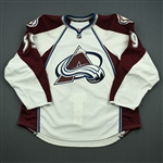 Cheek, Trevor<br>White Set 1 - Training Camp Only<br>Colorado Avalanche 2013-14<br>#39 Size: 58