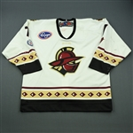 Lawson, Kyle<br>White Set 1<br>Gwinnett Gladiators 2012-13<br>#7 Size: 54