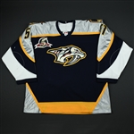 Bouillon, Francis * <br>Navy 1st Regular Season<br>Nashville Predators 2002-03<br>#51 Size: 54