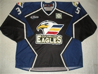Carrozzi, Chris<br>Black Set 1 (Back-Up Only)<br>Colorado Eagles 2011-12<br>#35