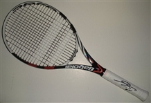 Tsonga, Jo-Wilfried<br>Babolat Racquet, French Open, Un-used, Roland Garros Logo, Autographed<br>French Open 2012<br>