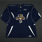 Reebok<br>Navy Practice Jersey<br>Florida Panthers 2005-06<br>Size: 56