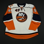 Fata, Drew<br>White Set 1 (RBK 1.0)<br>New York Islanders 2007-08<br>#49 Size: 58