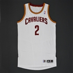 Williams, Mo * <br>White Regular Season - Photo- Matched to 9 Games<br>Cleveland Cavaliers 2010-11<br>#2 Size: XL+4