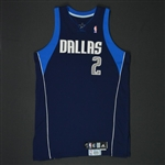 Kidd, Jason * <br>Navy Set 1 - Photo-Matched to 3 Games<br>Dallas Mavericks 2009-10<br>#2 Size: 48 + 2