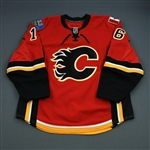 Kostopoulos, Tom<br>Red Set 3<br>Calgary Flames 2010-11<br>#16 Size: 56