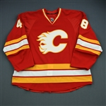 Nemisz, Greg<br>Retro Third Set 1 (First NHL Point)<br>Calgary Flames 2010-11<br>#48 Size: 58
