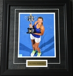 Azarenka, Victoria<br>Framed - Autographed 8x10<br>USTA 2012<br>Size:17.5 in H x 15.25 in W