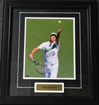 Querrey, Sam<br>Framed - Autographed 8x10<br>USTA 2012<br>Size:17.5 in H x 15.25 in W
