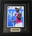 Stephens, Sloane<br>Framed - Autographed 8x10<br>USTA 2012<br>Size:17.5 in H x 15.25 in W