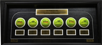 Bob Bryan & Mike Bryan vs. Leander Paes & Radek St<br>Framed - Road to the Championship - Mens Doubles Finals<br>US Open 2012<br>#1 of 3 Size:12.5 in H X 31 in W x 3.5 in D