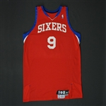 Iguodala, Andre * <br>Red Set 2 - Photo-Matched to 10 Games<br>Philadelphia 76ers 2009-10<br>#9 Size: 50